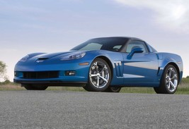 2010 Corvette Grand Sport Poster 24 X 36 Inch | Blue - $18.99
