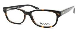 Fossil FOS 7009 086 Women's Eyeglasses Frames 52-16-140 Dark Havana + CASE - $64.15