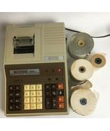 Vintage Bohsei 810 Electronic Calculator Desktop Memory Printer - Works ... - $34.39