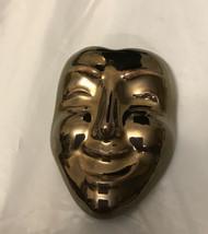Vintage Pin Face Mask Ceramic - $9.90