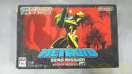Nintendo Metroid Zero Mission Game Boy Advance Software - $97.52