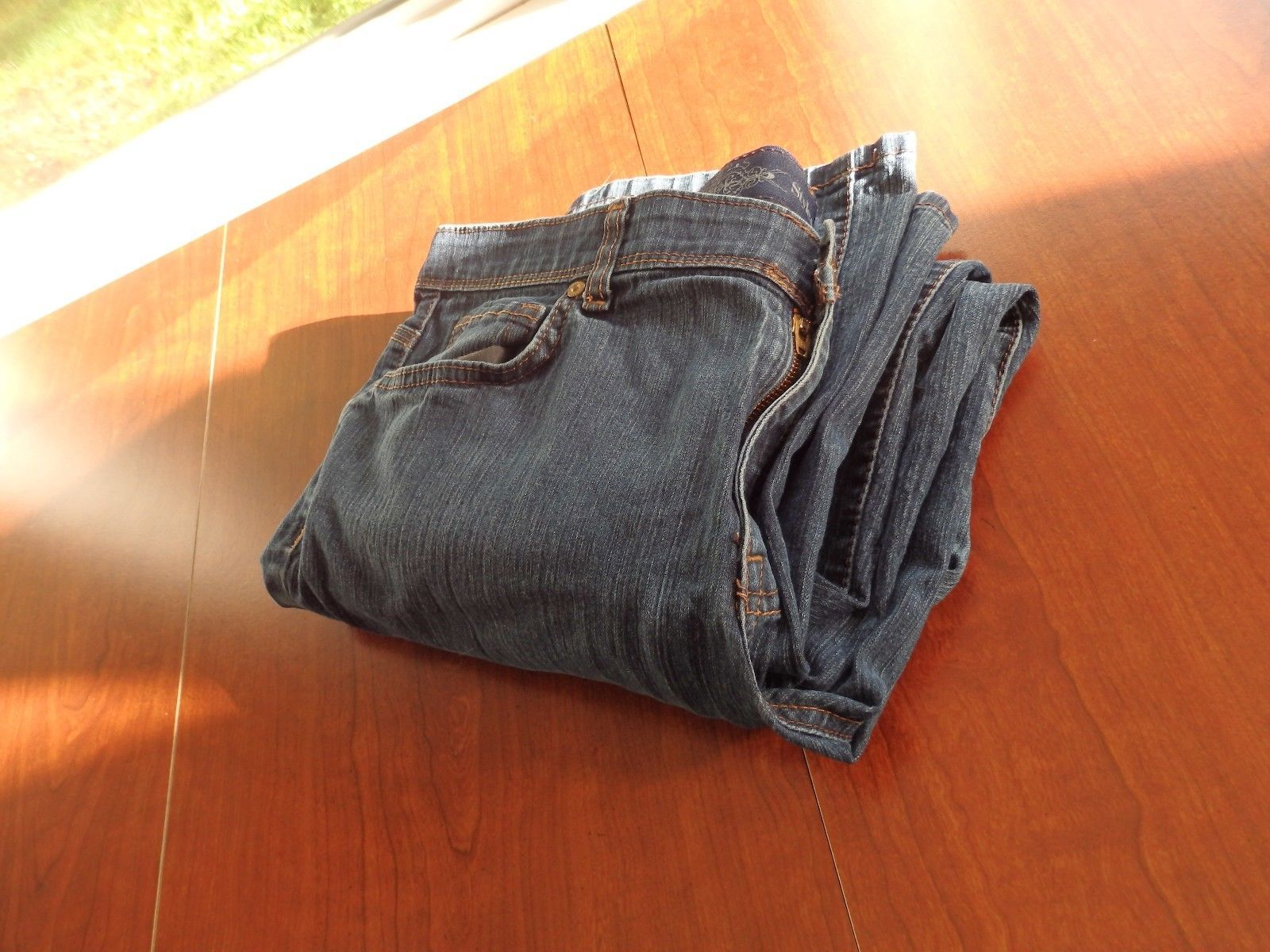 Primary image for Women's Old Navy Blue Denim Jeans Size 14 Regular Pants