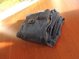 Women's Old Navy Blue Denim Jeans Size 14 Regular Pants - $15.78