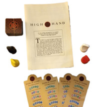 High Hand Board Game Replacement Pieces - Cards / Pawns / Prompts MILTON BRADLEY - $4.88