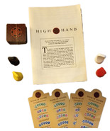 High Hand Board Game Replacement Pieces - Cards / Pawns / Prompts MILTON... - $4.88