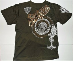 SouthPole Boys T-Shirt Olive Green Sizes Lg 14-16 or XLg 18-20 NWT - $17.09