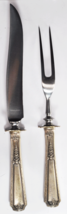 """Louis XIV by Towle Sterling Hollow Handle Salad Carving Set Fork Knife 10-1/8"""" - $49.49"""