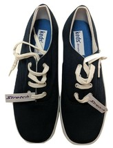 Keds Sneakers Canvas Lace-up Navy Stretch Comfort Shoe - $27.10