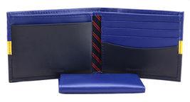 Tommy Hilfiger Men's Leather Wallet Passcase Billfold Rfid Navy Black 31TL220053 image 7
