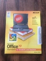 Microsoft Office XP Standard for Students and Teachers 3 Disc Version 2002 - $13.86