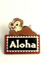 2008 Walt Disney Hidden Mickey Enamel Pin  Chip & Dale Aloha Polynesian ... - $11.14