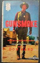 JAMES ARNESS (GUNSMOKE) RARE 1957 EARLY PAPERBACK BOOK (CLASSIC) - $98.99