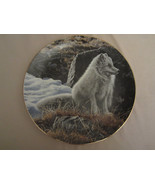 ARCTIC FOX Collector Plate NORTHERN MORNING Ron Parker NATURE'S QUIET MO... - $39.20