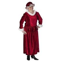 Halco Mrs. Claus Costume Set Dress Size 20 to 24 - $99.95