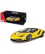 Lamborghini Centenario Yellow Exclusive Edition 1/18 Diecast Model Car b... - $83.15