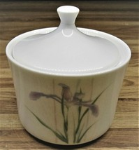 Corning Ware Shadow Iris Sugar Bowl With Lid/Excellent - $13.99