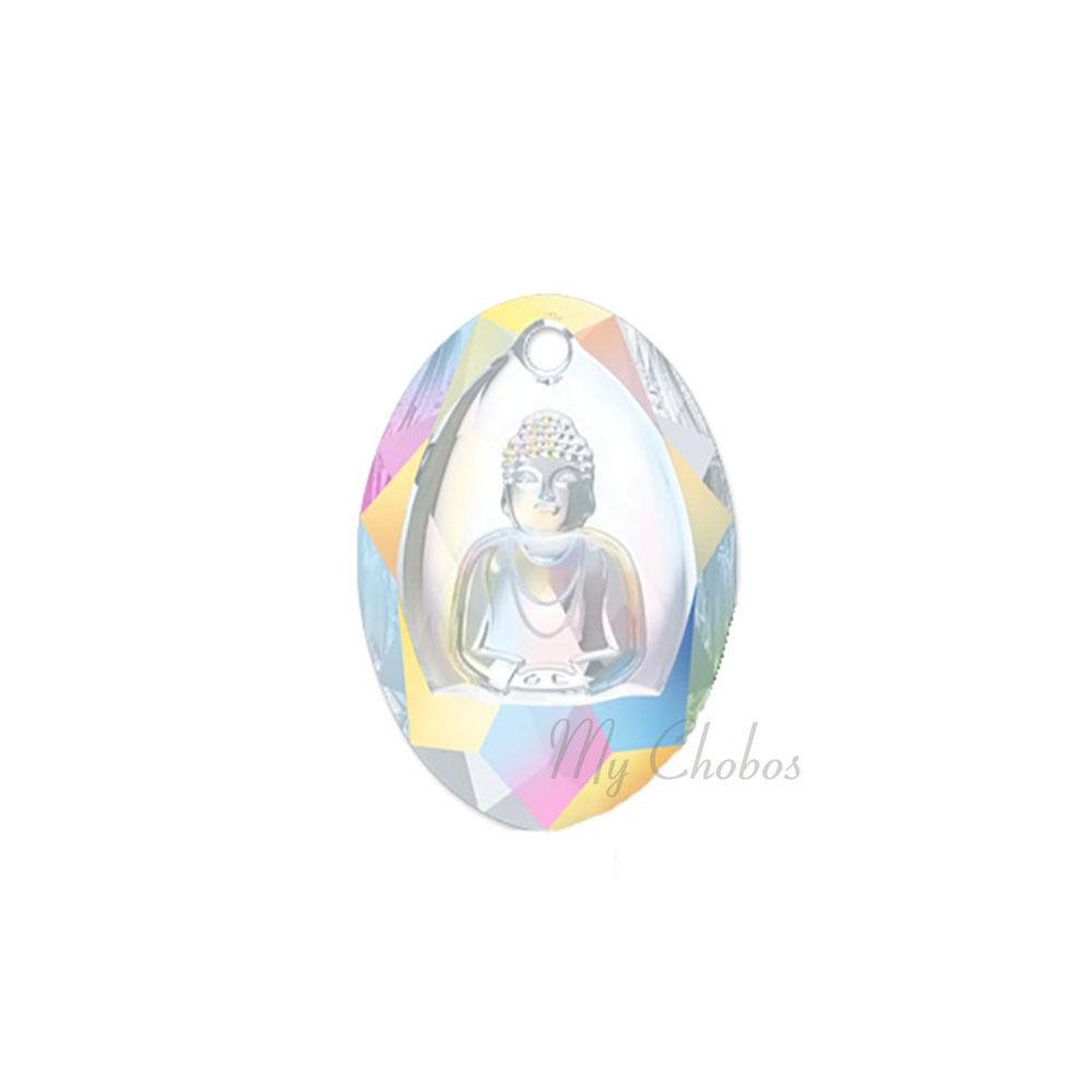 "Swarovski Pendants jewelry necklace making CRYSTAL AB (001 AB) ""Pick Your Shape"" image 13"