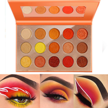 De'Lanci Eye-Catching Chili Eyeshadow Pallete Orange Matte Shimmer Press... - $13.85