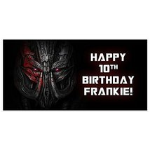 Transformers Personalized Birthday Banner Party Backdrop Decoration - €18,70 EUR