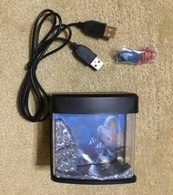 Mini USB Desktop Aquarium Fish Tank LED Lamp - €8,50 EUR