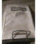 CRAFTSMAN DUST-BLOCKER EZ EMPTY BAG DIRTY, BUT ITS BEEN USED - $44.52