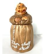 Twin Winton Friar Buddhist Monk 1960 Cookie Jar Ceramic Thou Shalt Not S... - $89.95