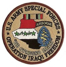 US Army Special Forces Operation Iraqi Freedom Patch - $9.89
