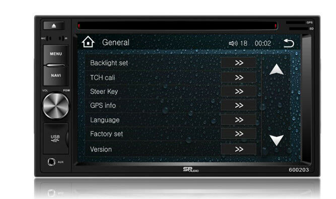DVD GPS Navigation Multimedia Radio and Dash Kit for Honda Pilot 2007 image 9