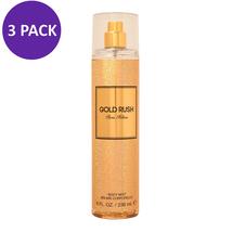 Paris Hilton Gold Rush W Body Spray 8.0 oz (3 PACK) - $34.55