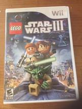 LEGO Star Wars III: The Clone Wars (Nintendo Wii, 2011) - $9.99