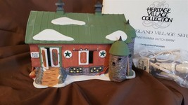 Dept 56 New England Village 1993 PENNSYLVANIA DUTCH BARN 56480 Retired 1996 - $24.00