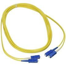 C2G/Cables to Go 14462 SC-SC 9/125 OS1 Duplex Single-Mode PVC Fiber Opti... - $73.99