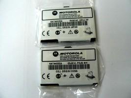 (Lot of 2) Motorola Nextel i830 i833 i835 i836 Slim Standard Batteries N... - $6.92