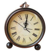 George Jimmy European Retro Alarm Clock Best Alarm Clock Hanging Clocks -Roman - $34.12
