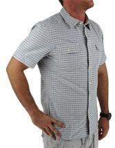 Levi's Men's Cotton Short Sleeve Plaid Button Up Shirt White 651840001 image 3