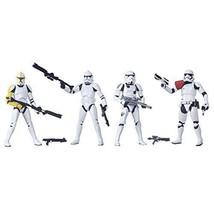 Star Wars black series troop Builder 4 Pack pre-painted PVC 6 inch figure - $163.31