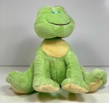 """Baby Ganz Light Green Wind Up Waggle Head Frog Musical Plush 9"""" - $29.65"""