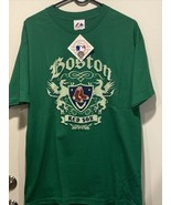 Boston Red sox shirt - size LARGE - Majestic Brand - New - GREEN - $14.80