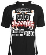 Husband And Wife Shooting Partners For Life T Shirt, I Love Gunner T Shi... - $16.99+