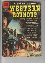 Western Roundup #25 VG dell giant - roy rogers - buffalo bill - rin tin ... - $45.99