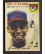 ERNIE BANKS Rookie Card RP #94 Cubs RC 1954 T Free Shipping - $2.95
