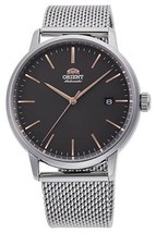 Orient Contemporary RA-AC0E05N Automatic men's watch stainless steel Milanese - $149.00