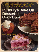 Pillsbury's Bake Off Dessert Cook Book HC 1971 - $9.99