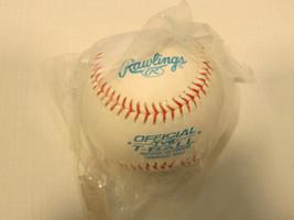"""1 Baseball Rawlings Officiel Tvb T-Ball Intérieur Extérieur Entraînement 9 """" NOS - $10.68"""