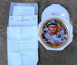 MIB - Franklin Mint Heirloom Plate - Royal Doulton - TY COBB - COA & Mailer - $24.74
