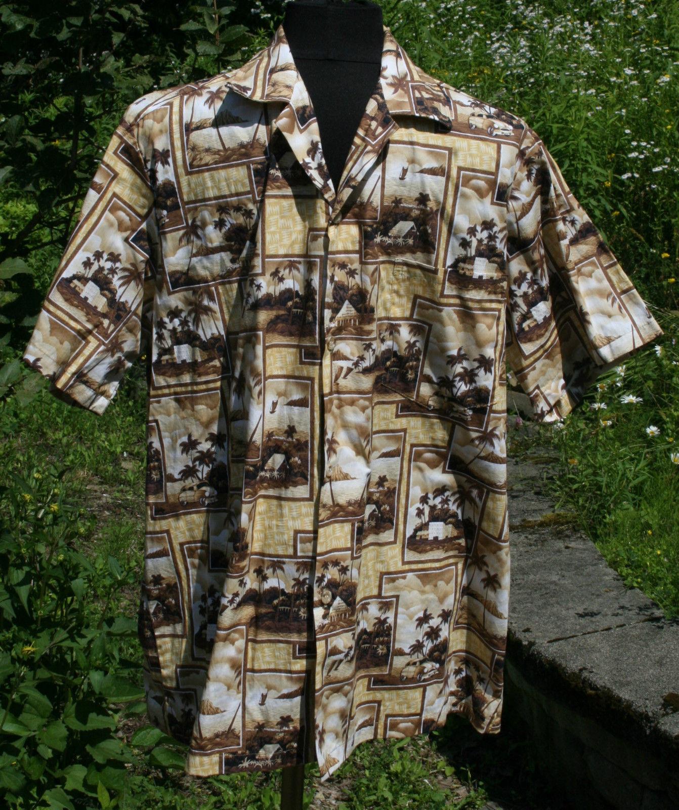 e5611ffe Hawaiian Shirt L Hawaii Beach Vtg Cars and 50 similar items. S l1600
