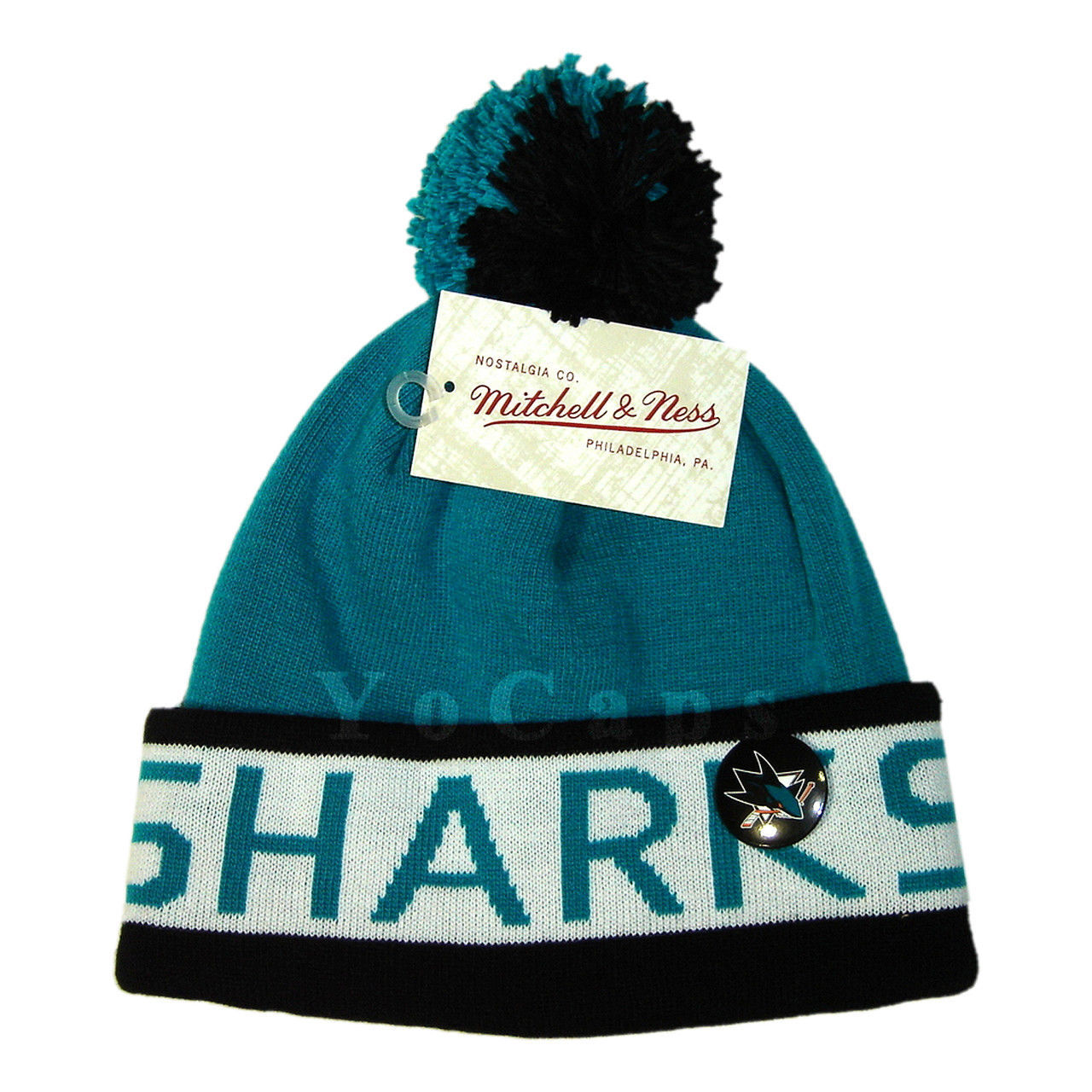 f4a01f874 Mitchell and Ness NHL San Jose Sharks 2 Tone and 40 similar items