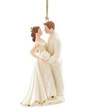 New Lenox 2015 First Christmas Ornament NIB  Marriage Bride and Groom NIB - $21.04
