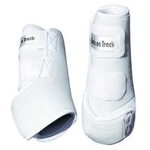 Medium Back On Track Exercise Boots - Hind (Pair) White U-0202 - $68.26