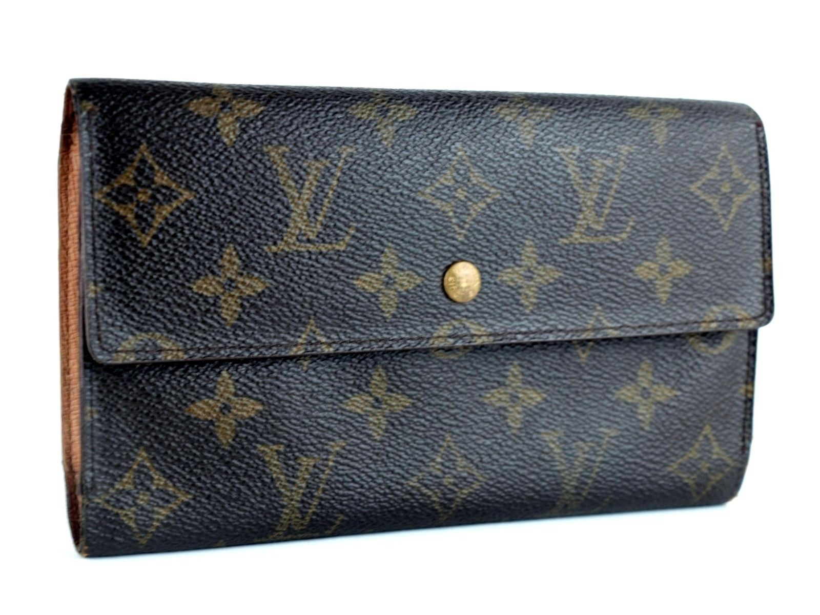 433224a103151 Auth LOUIS VUITTON Monogram Leather and 40 similar items